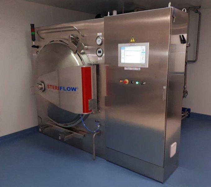 Parní sterilizátor Steriflow