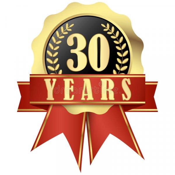 Výročí 30 let od založení